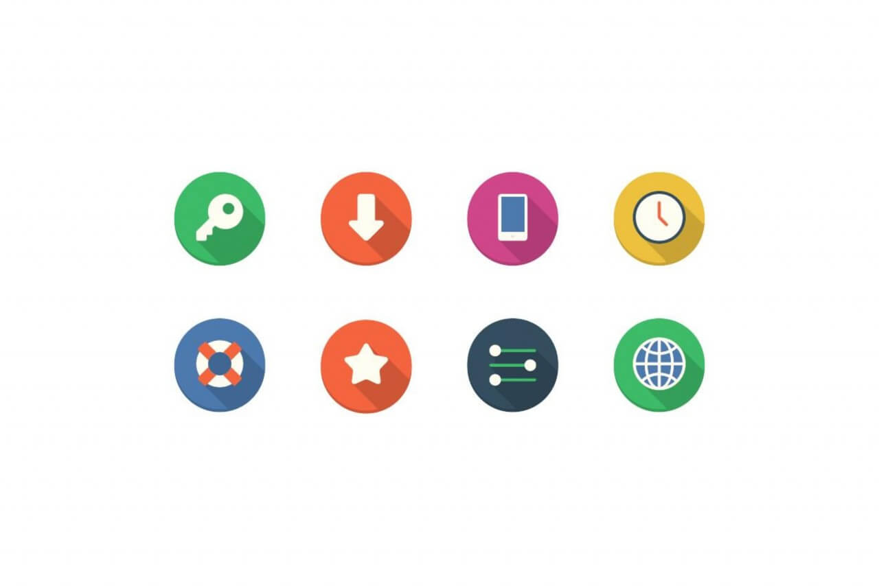 "Free vector ""Filo Icons - Mini Set 4"""