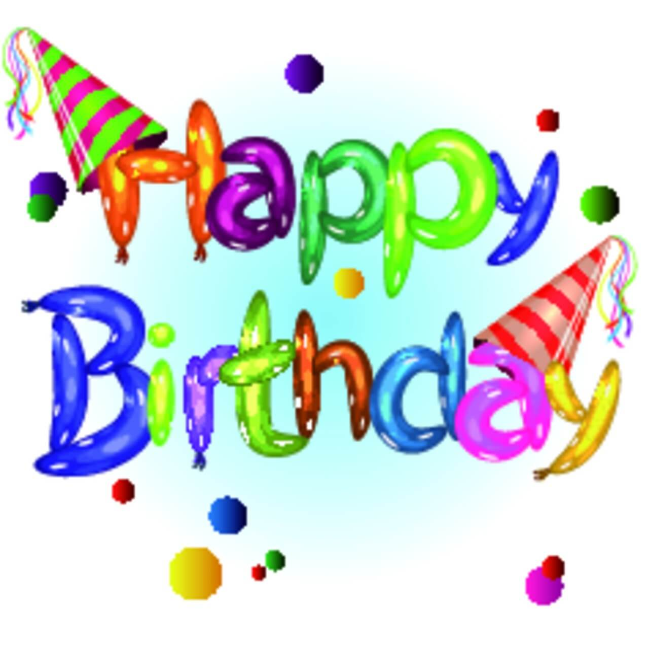 "Free vector ""Happy Birthday"""