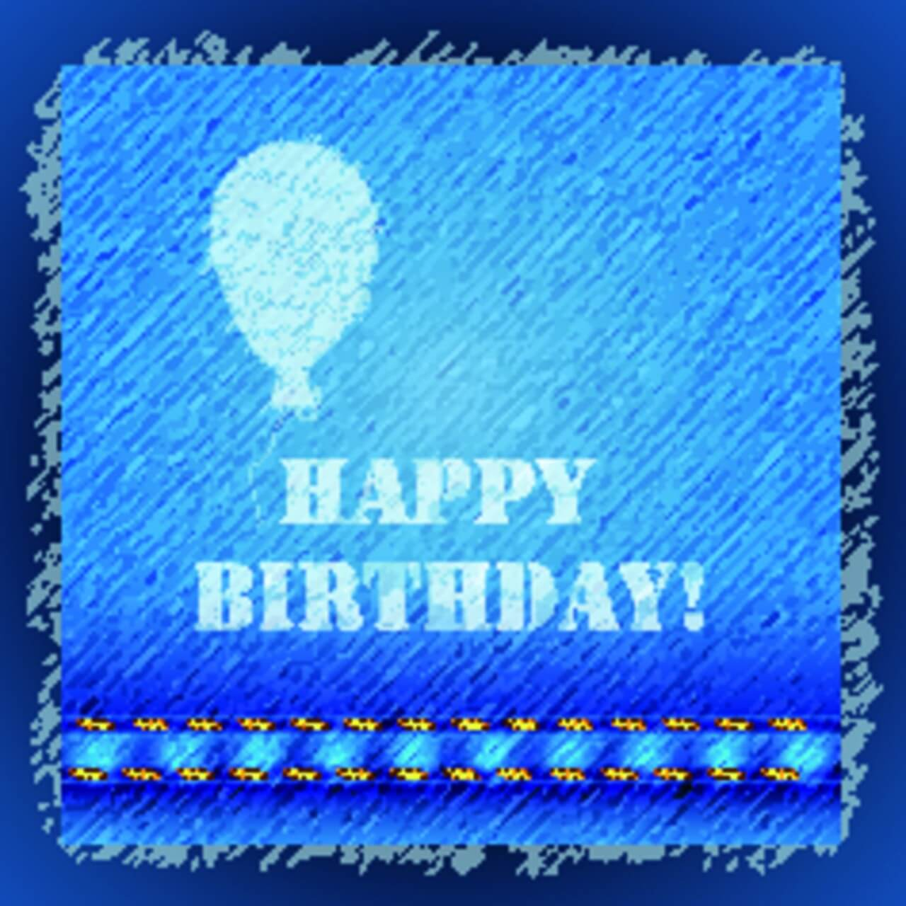 "Free vector ""Happy birthday text"""
