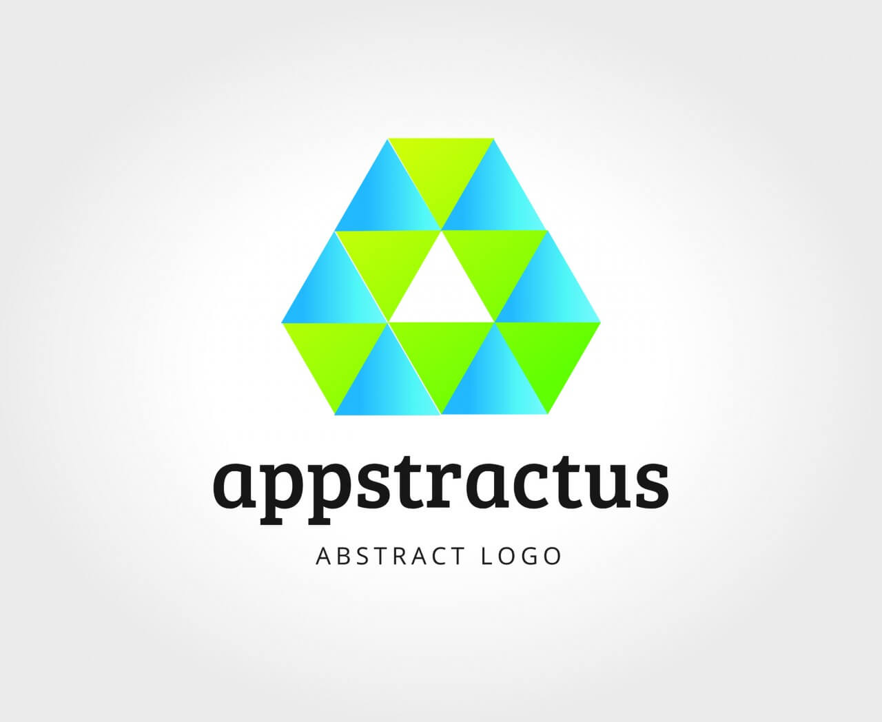 """Free vector """"Abstract vector logo template for branding and design"""""""
