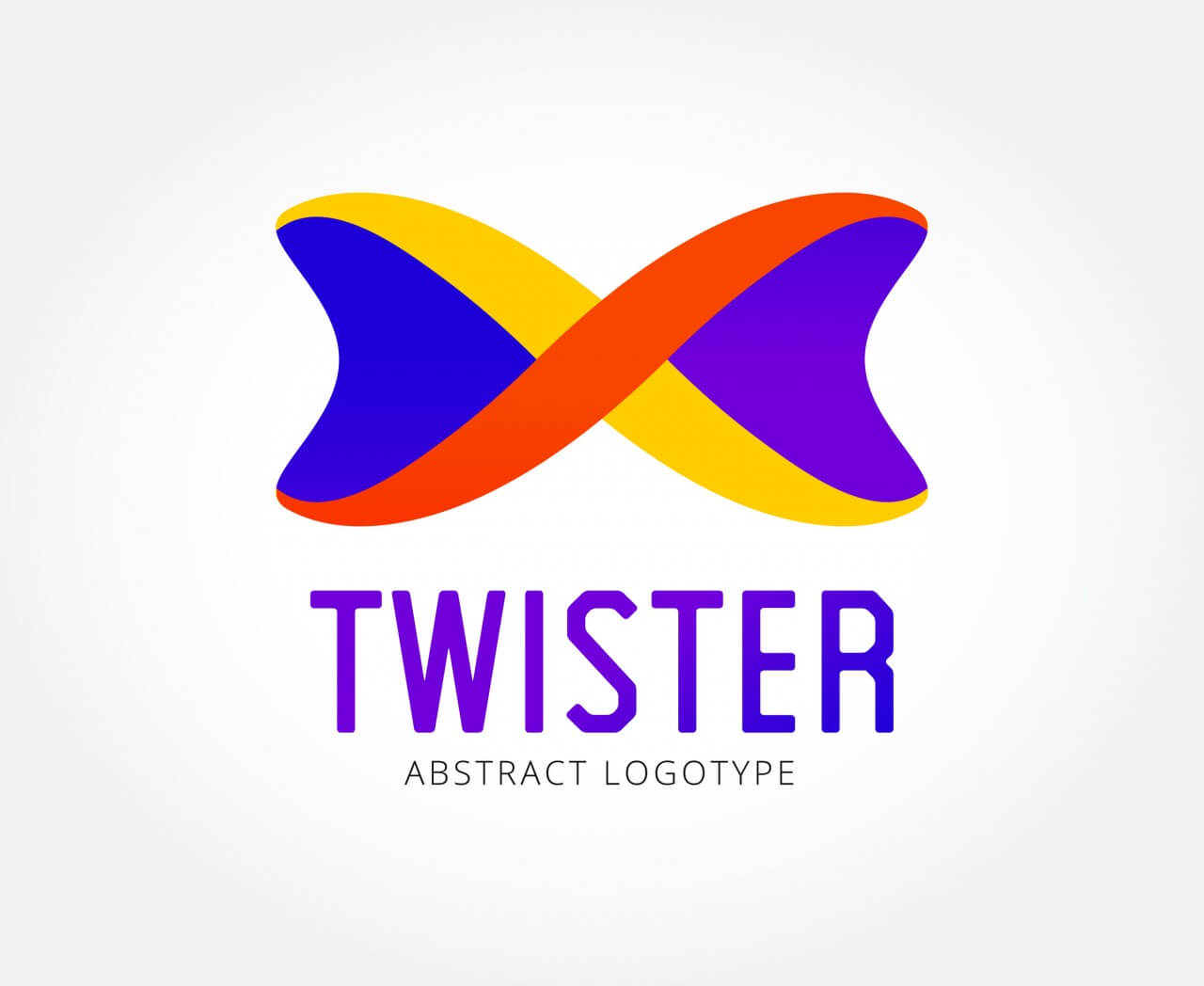 "Free vector ""Abstract vector logo template for branding and design"""