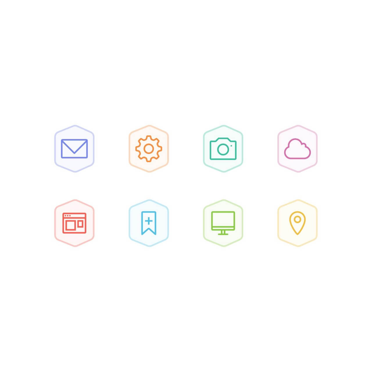 "Free vector ""Bertie Icons - Mini Set 2"""