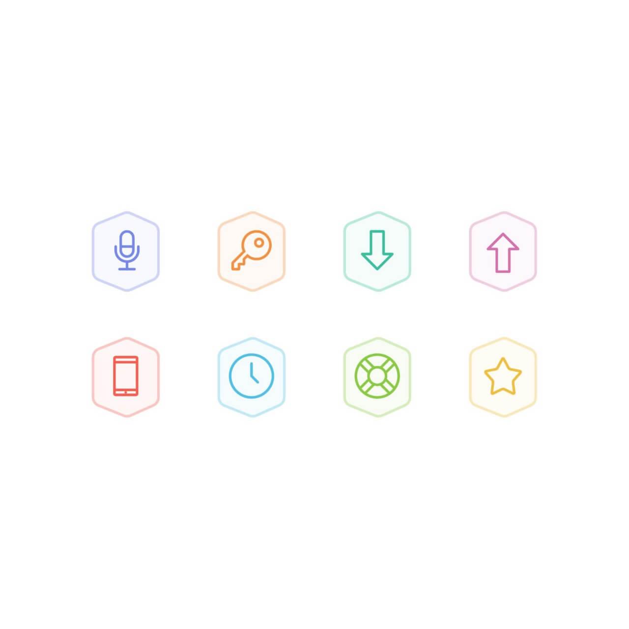 """Free vector """"Bertie Icons - Mini Set 4"""""""