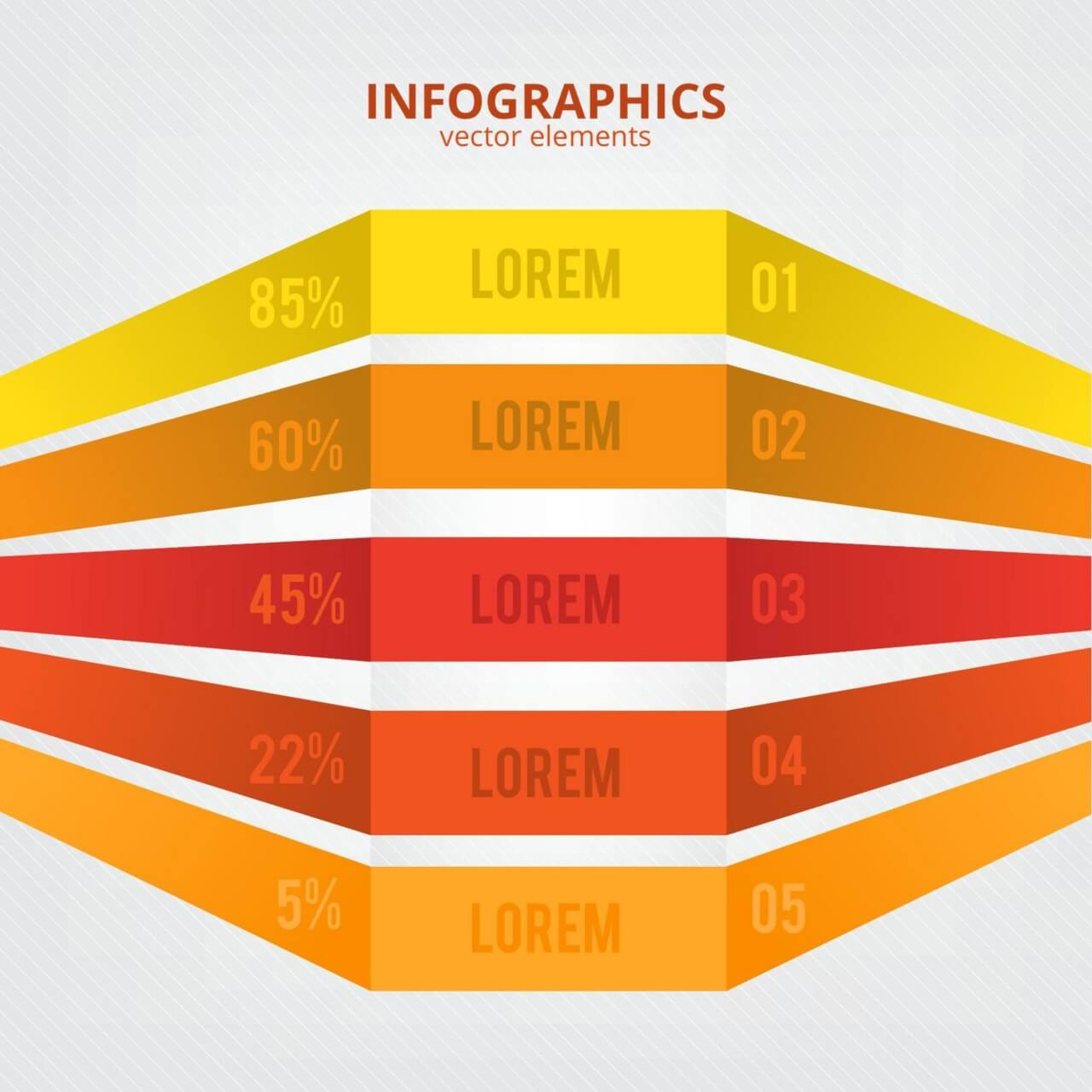 "Free vector ""Minimal infographics design"""