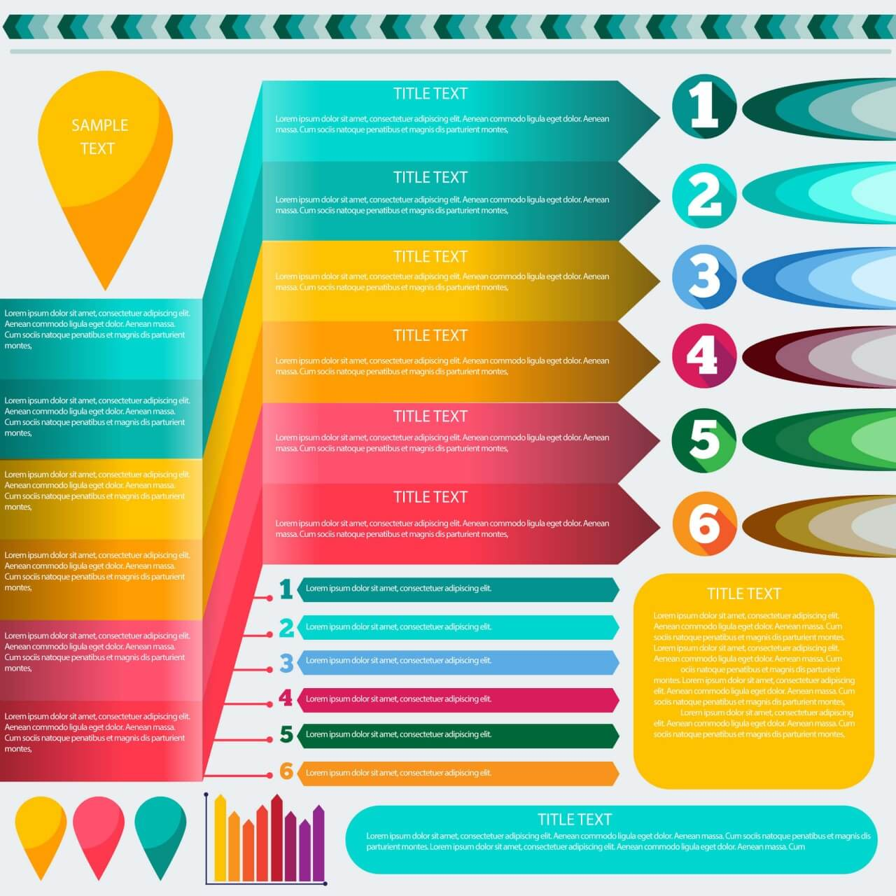 "Free vector ""Infographic elements """