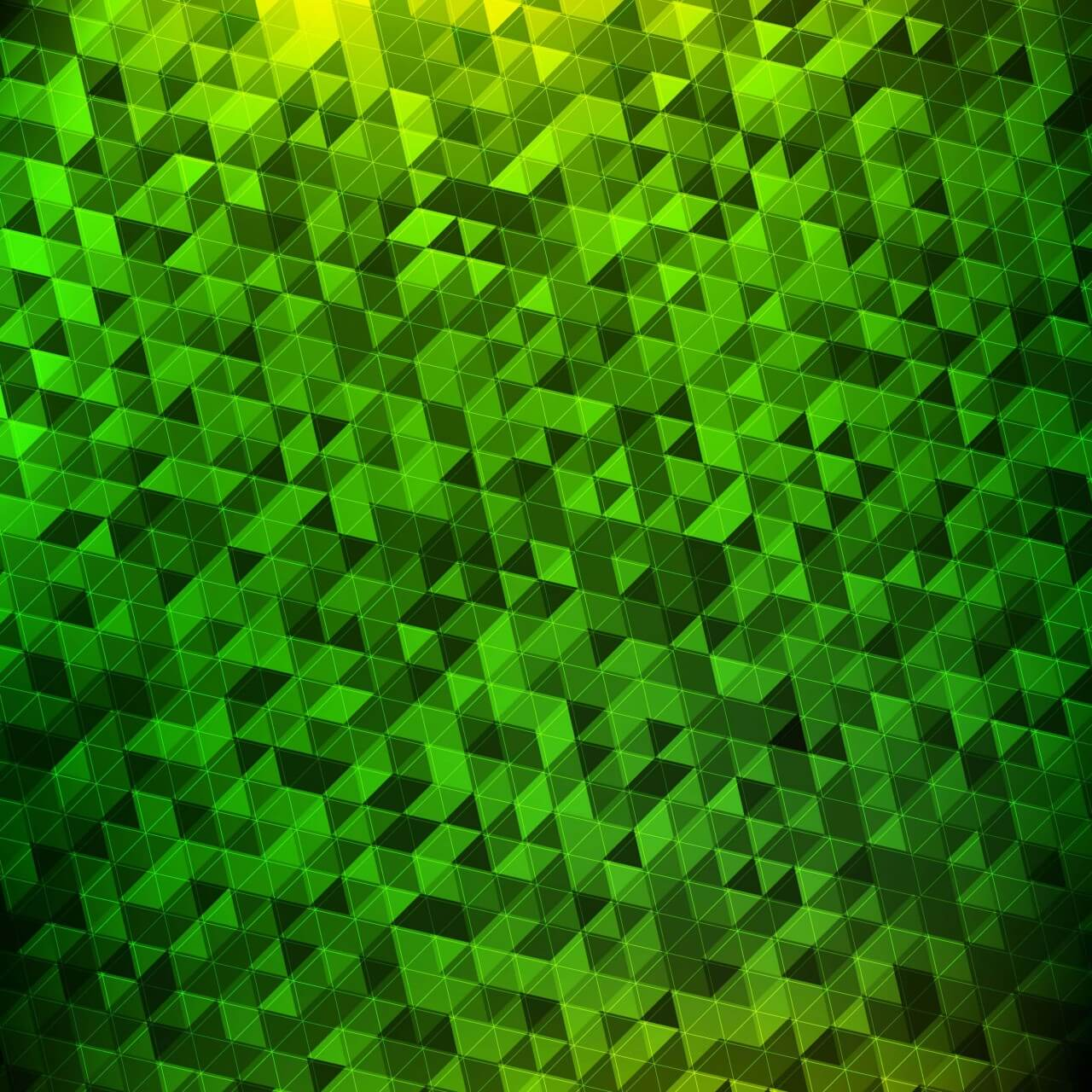 "Free vector ""Abstract green geometric background"""