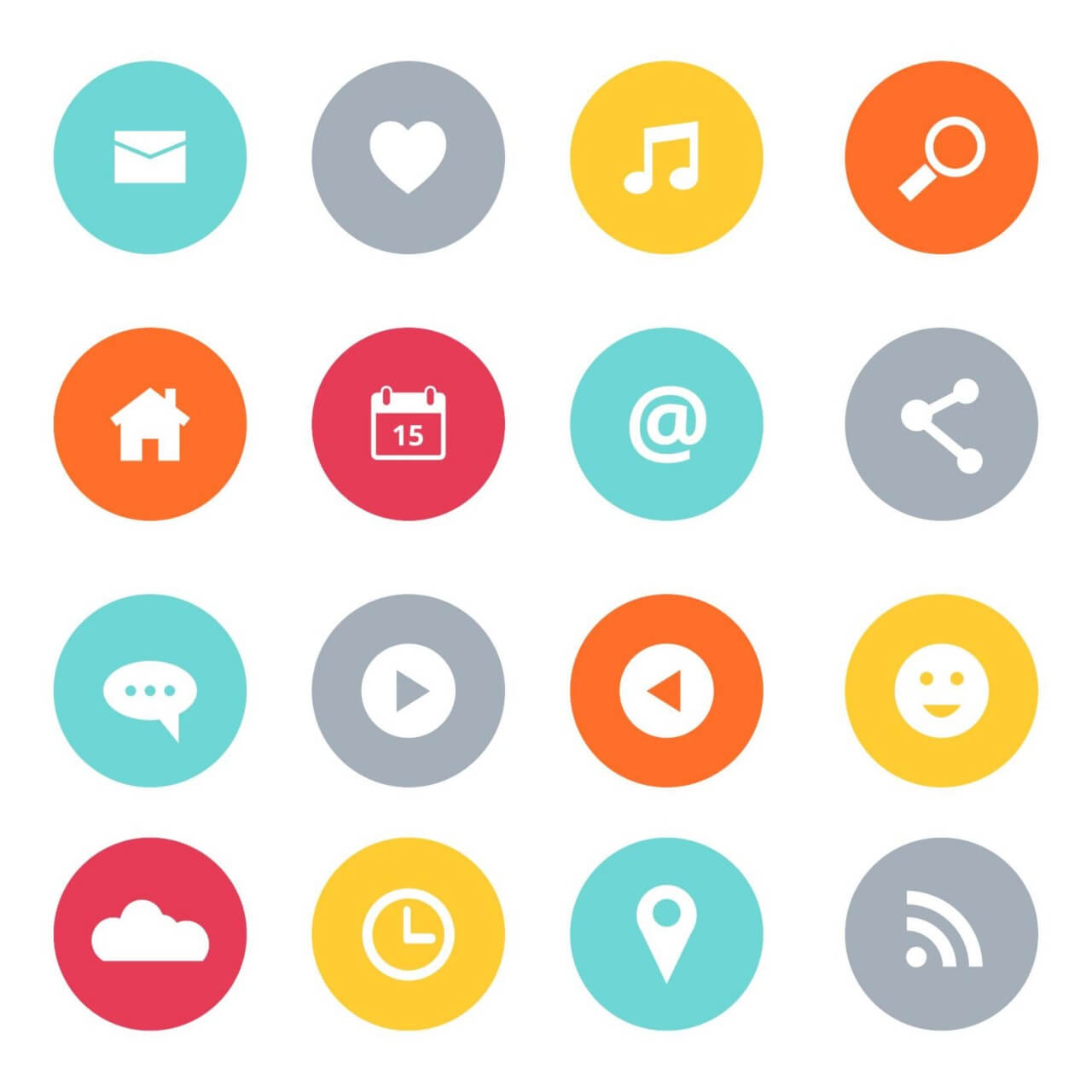 "Free vector ""Social Media Icons Set"""