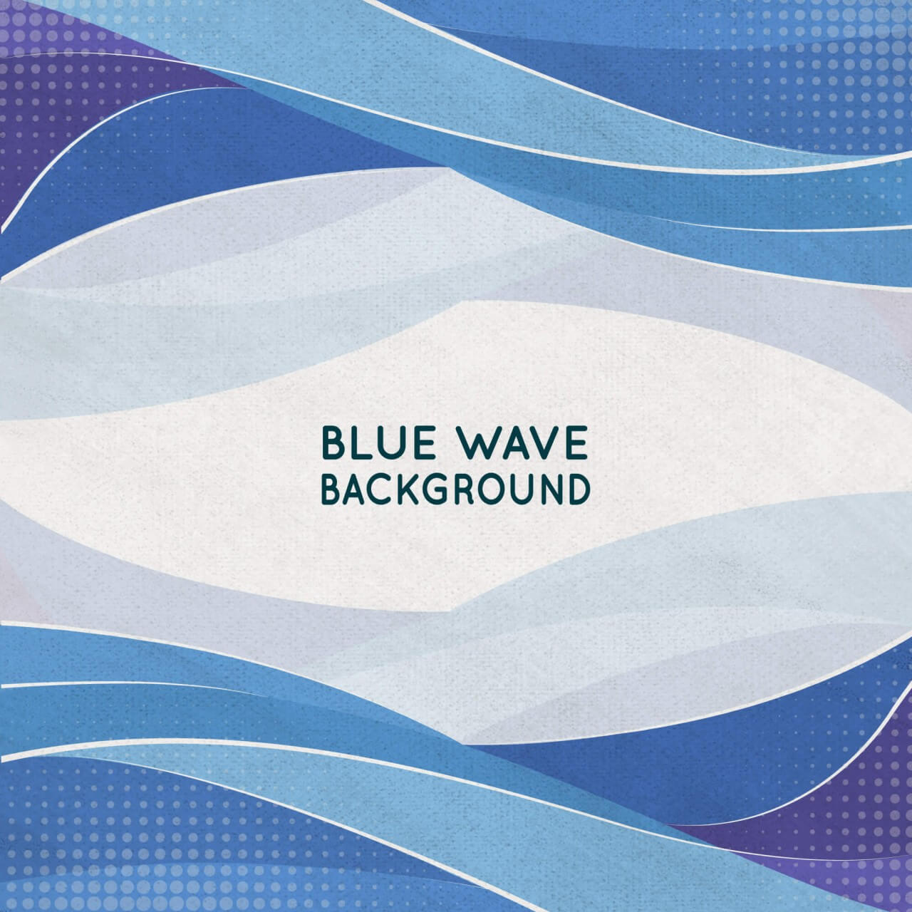 "Free vector ""Abstract Blue Wave Background"""