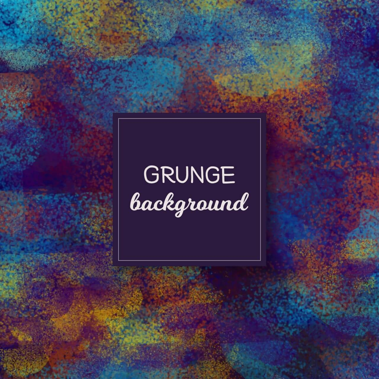 "Free vector ""Colorful grunge background"""