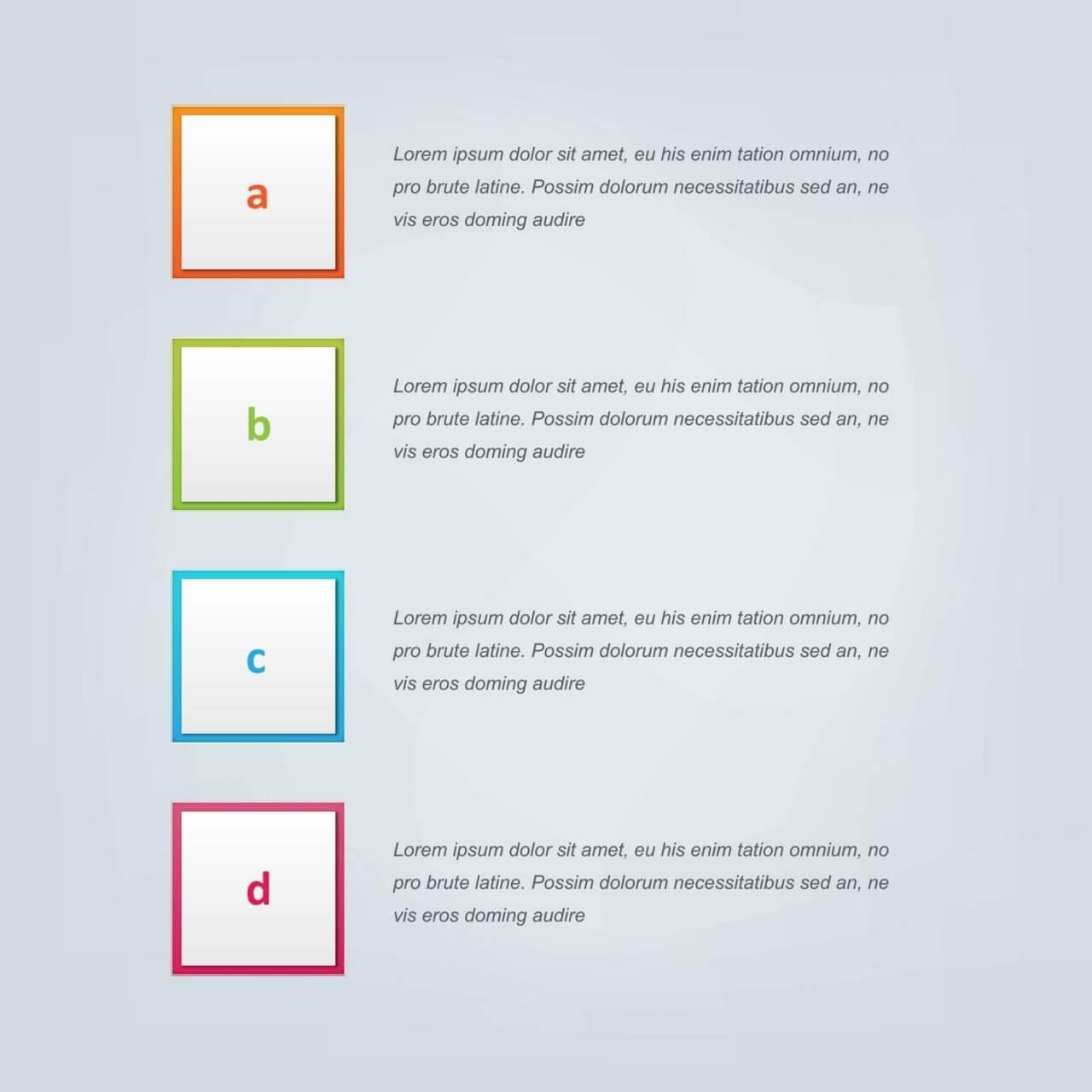 "Free vector ""Infographic vector design for workflow, steps"""