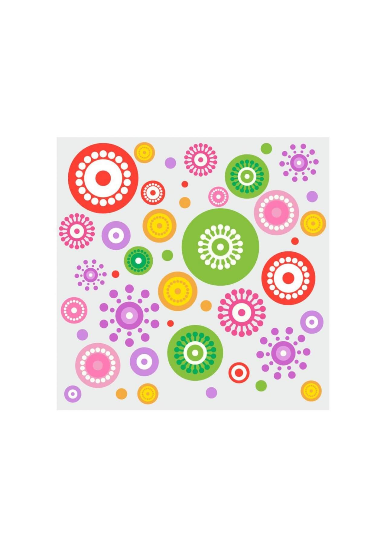 "Free vector ""Spring cheerful flowers"""