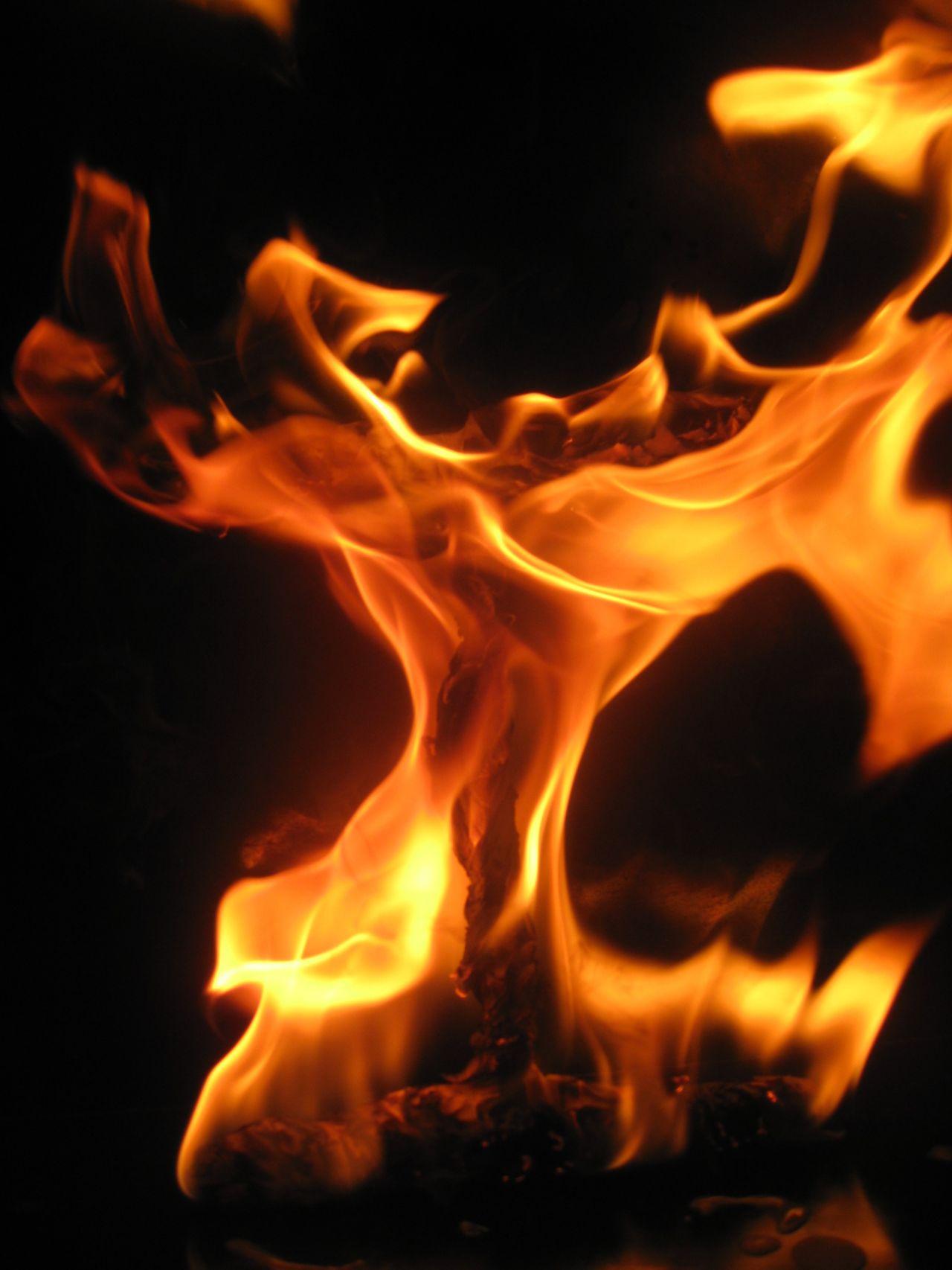 "Free photo ""Dancing Flames"""