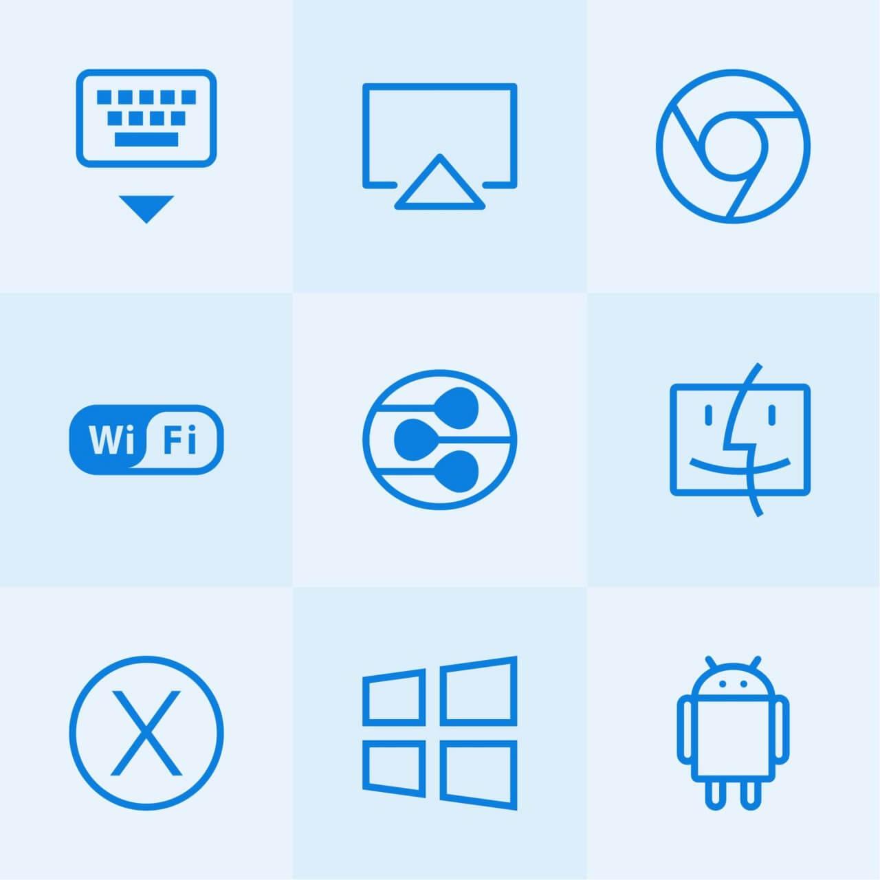 "Free vector ""Lynny Icons - Mini Set 20"""