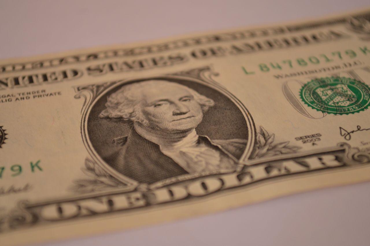 """Free photo """"One Dollar Washington"""""""
