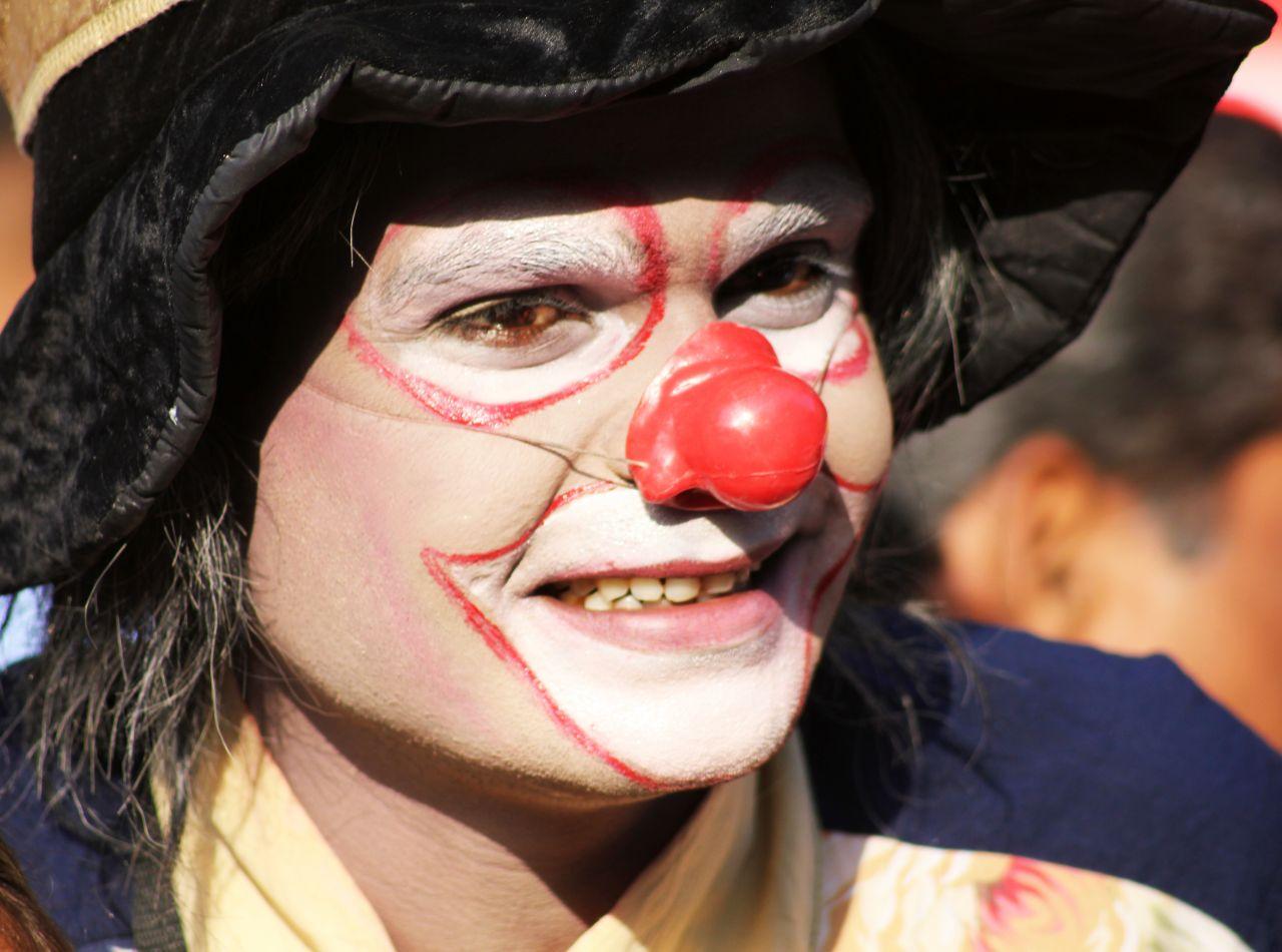 "Free photo ""Clown Makeup"""