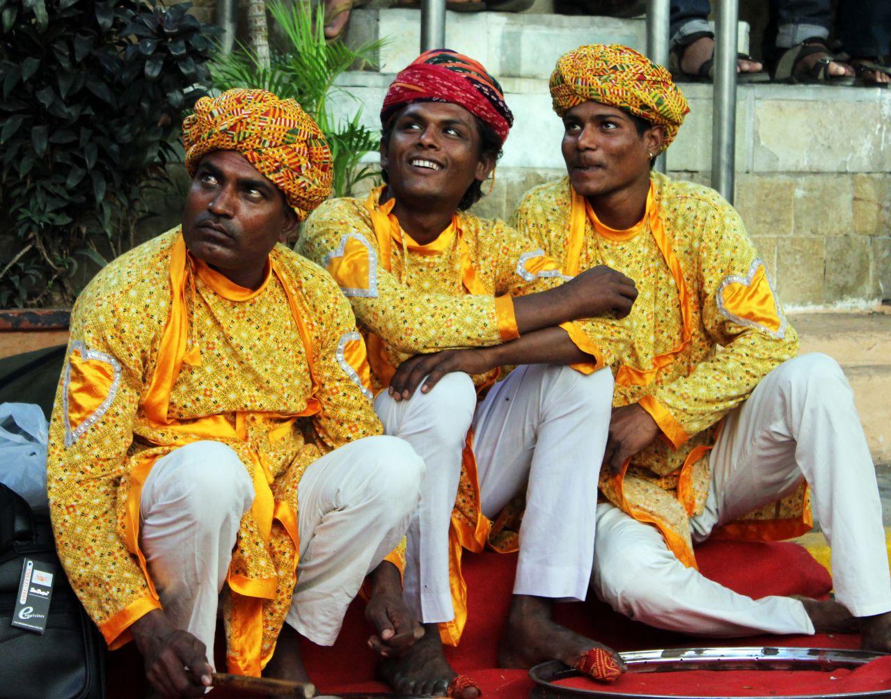 "Free photo ""Indian Folk Artists"""