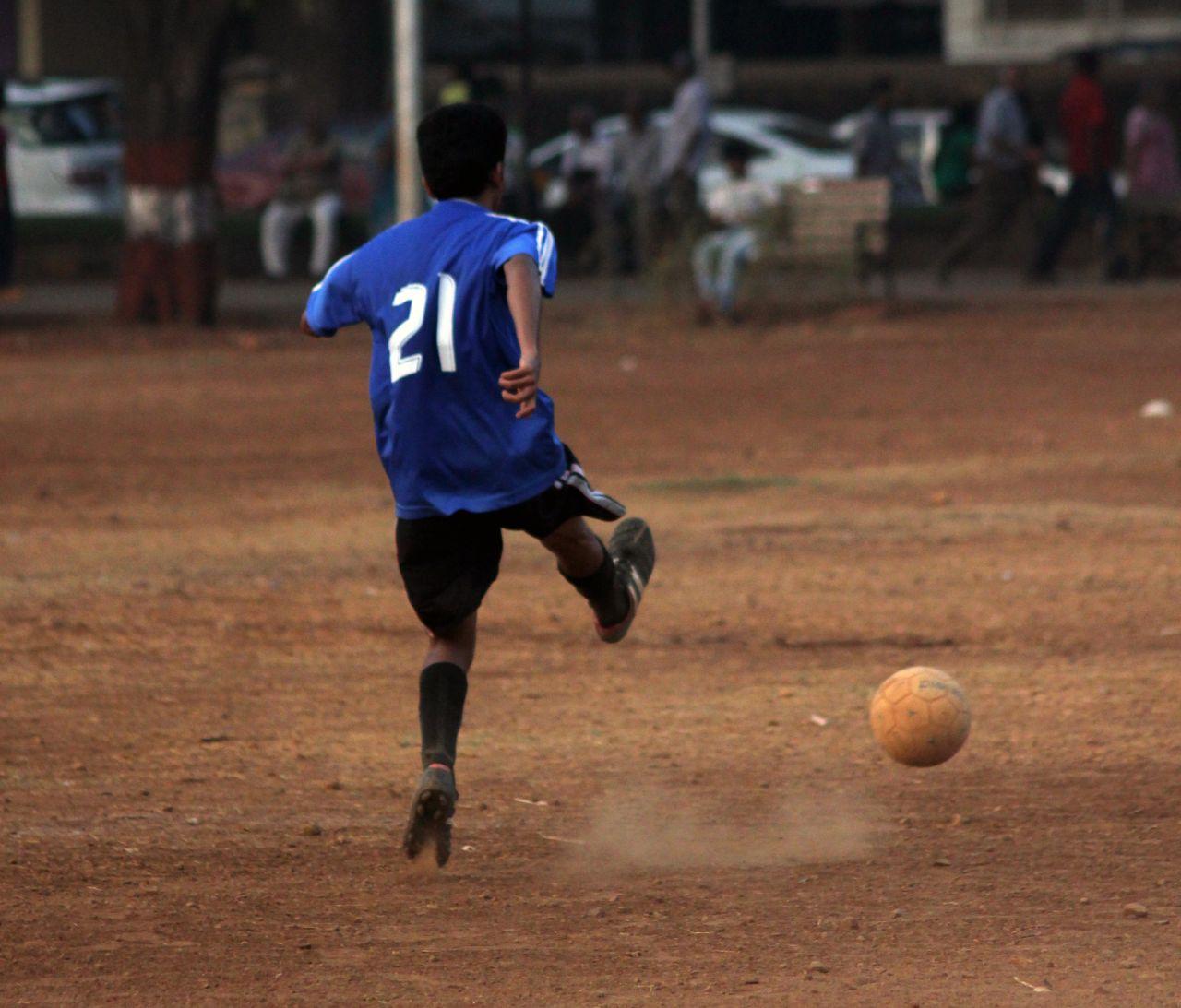 "Free photo ""Kick Soccer Ball"""