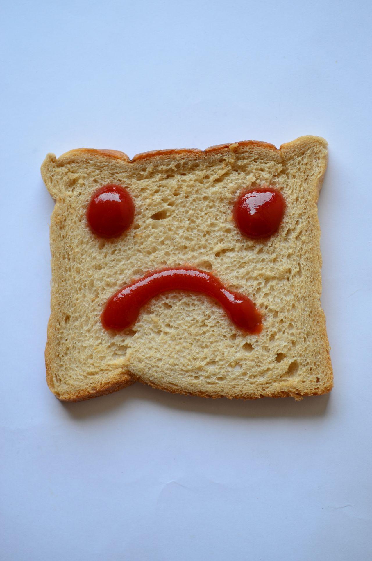 "Free photo ""Bread Sad Smiley"""