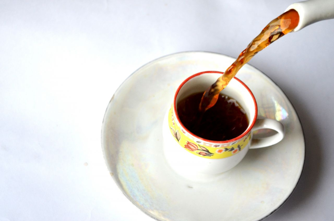 "Free photo ""Tea Cup Pouring"""