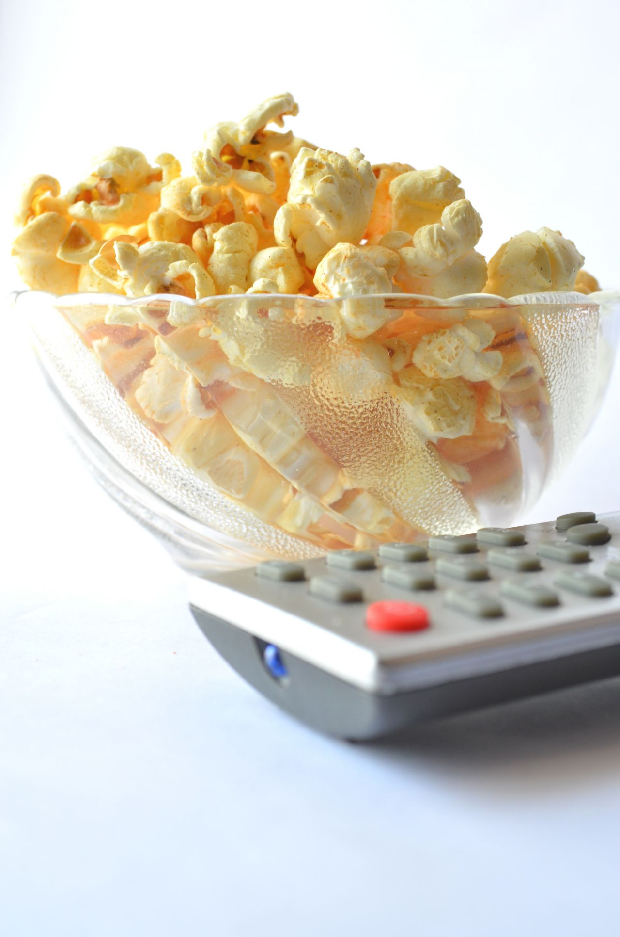 "Free photo ""Popcorn Tv Remote"""