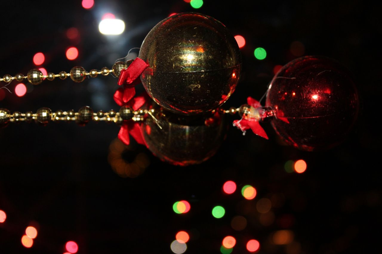 "Free photo ""Christmas Light Decorations"""