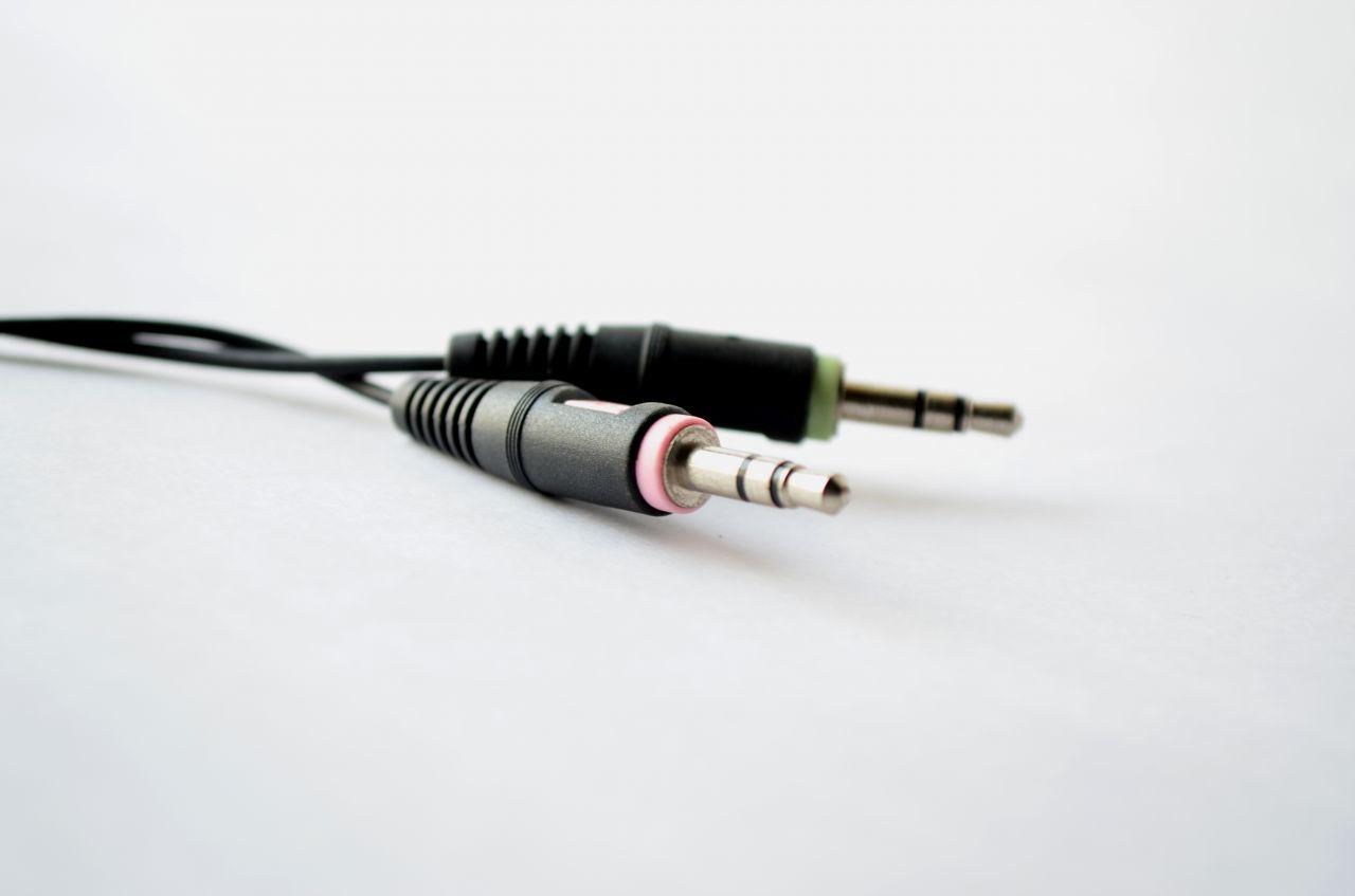"""Free photo """"Audio Cord"""""""