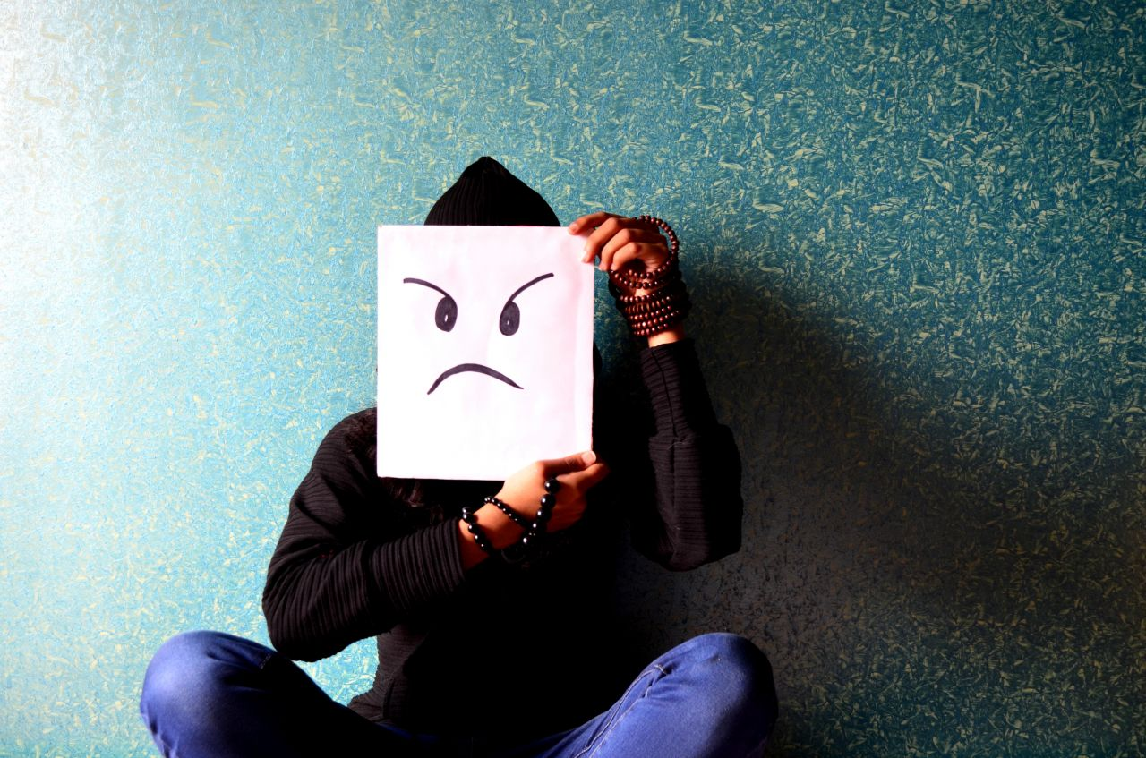 """Free photo """"Man Angry Face Smiley"""""""