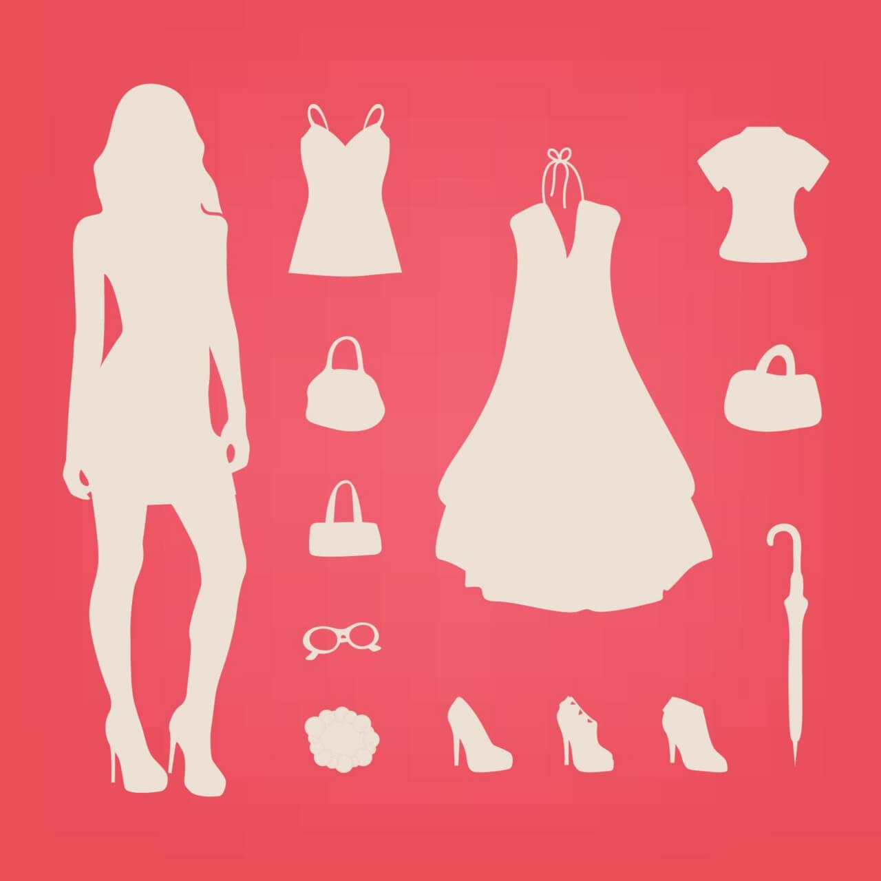 "Free vector ""Fashion Elements"""