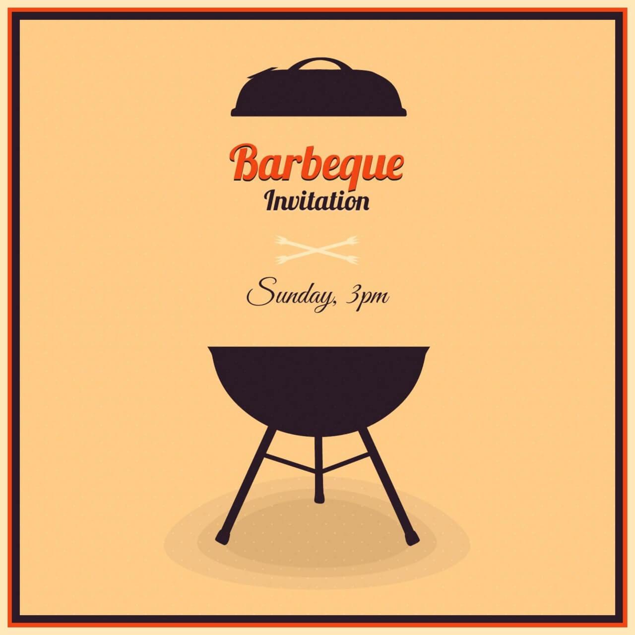 "Free vector ""Barbecue Illustration"""