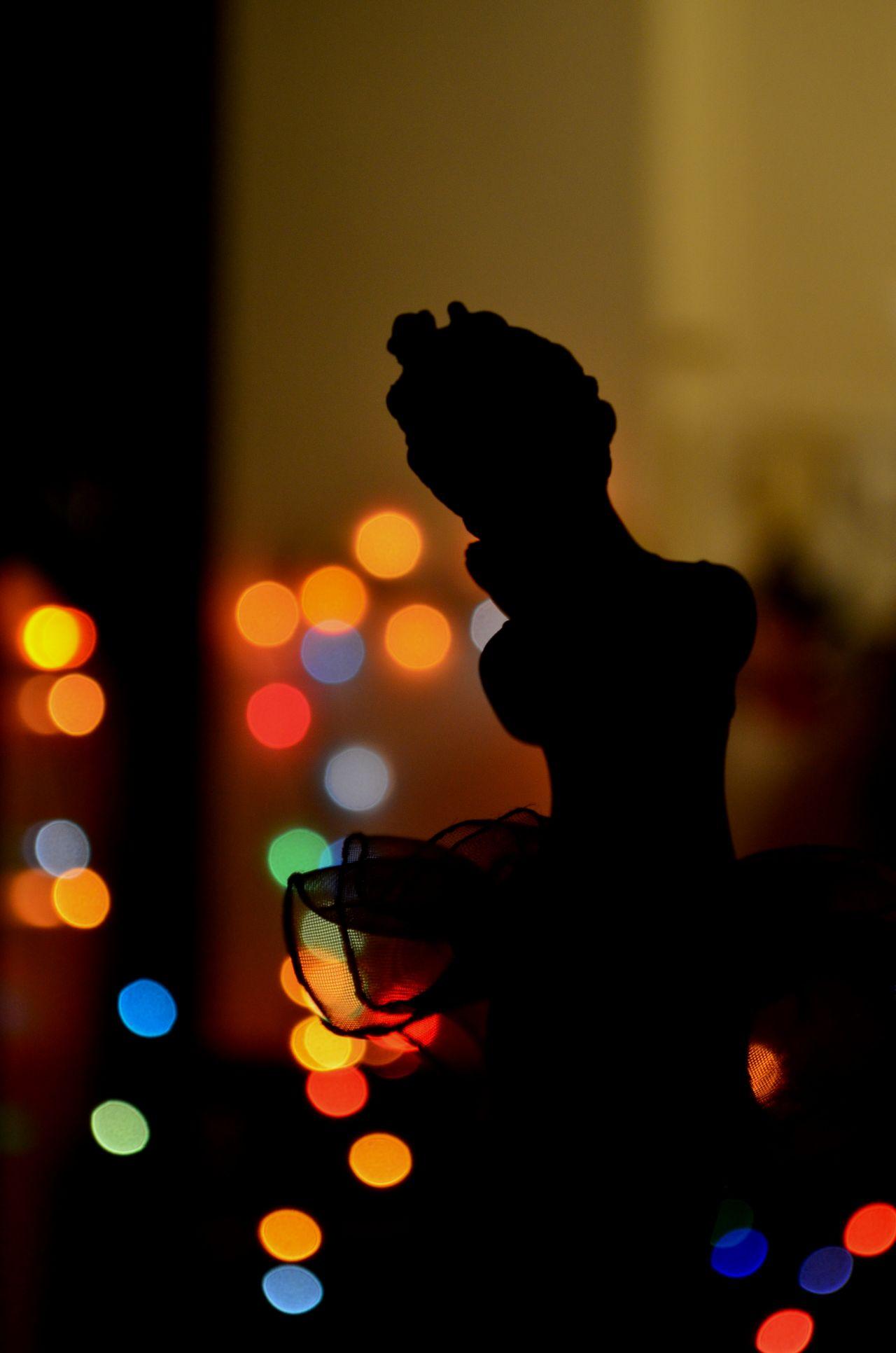 "Free photo ""Bokeh Lights Fairy"""