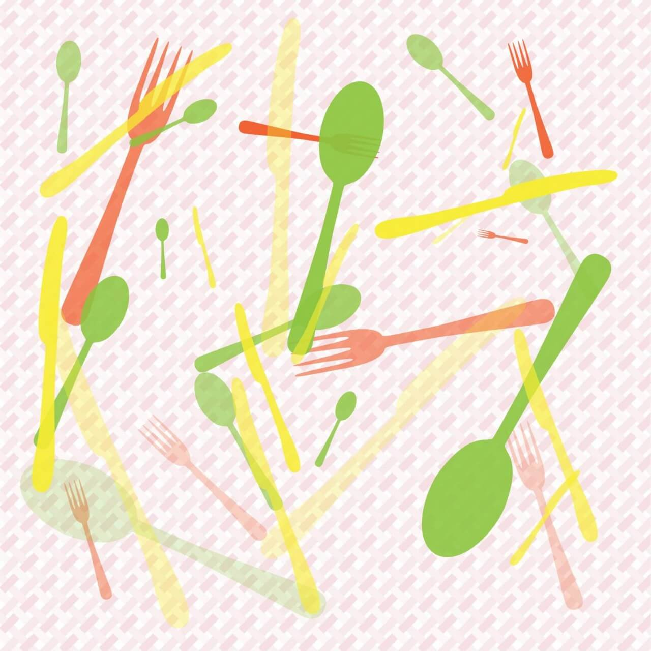"Free vector ""Food Abstract Background"""