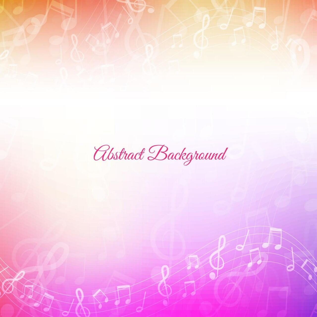 """Free vector """"Abstract Music Background"""""""