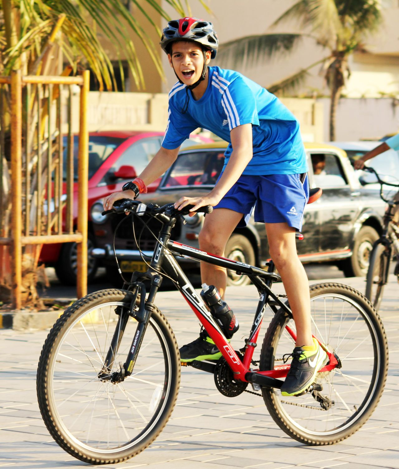 "Free photo ""Bicycle Rider"""