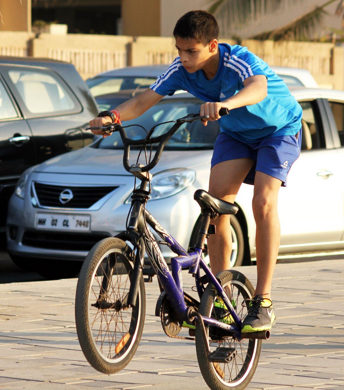 "Free photo ""Kid Cycle Rider"""