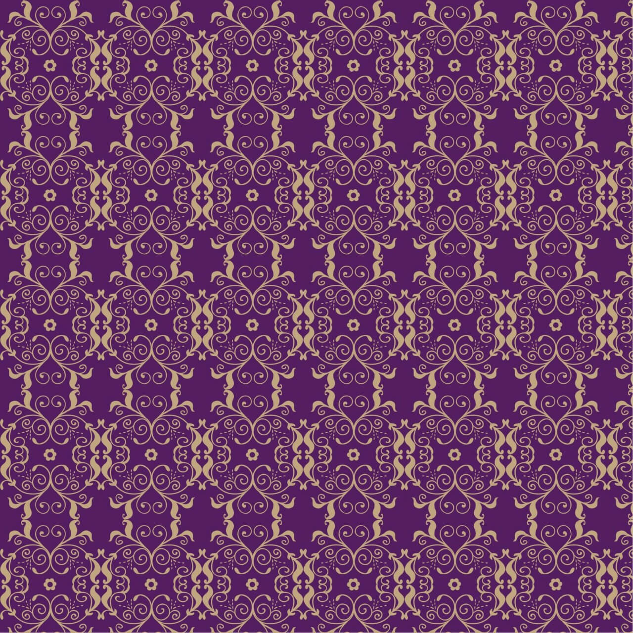"Free vector ""Damask seamless pattern """