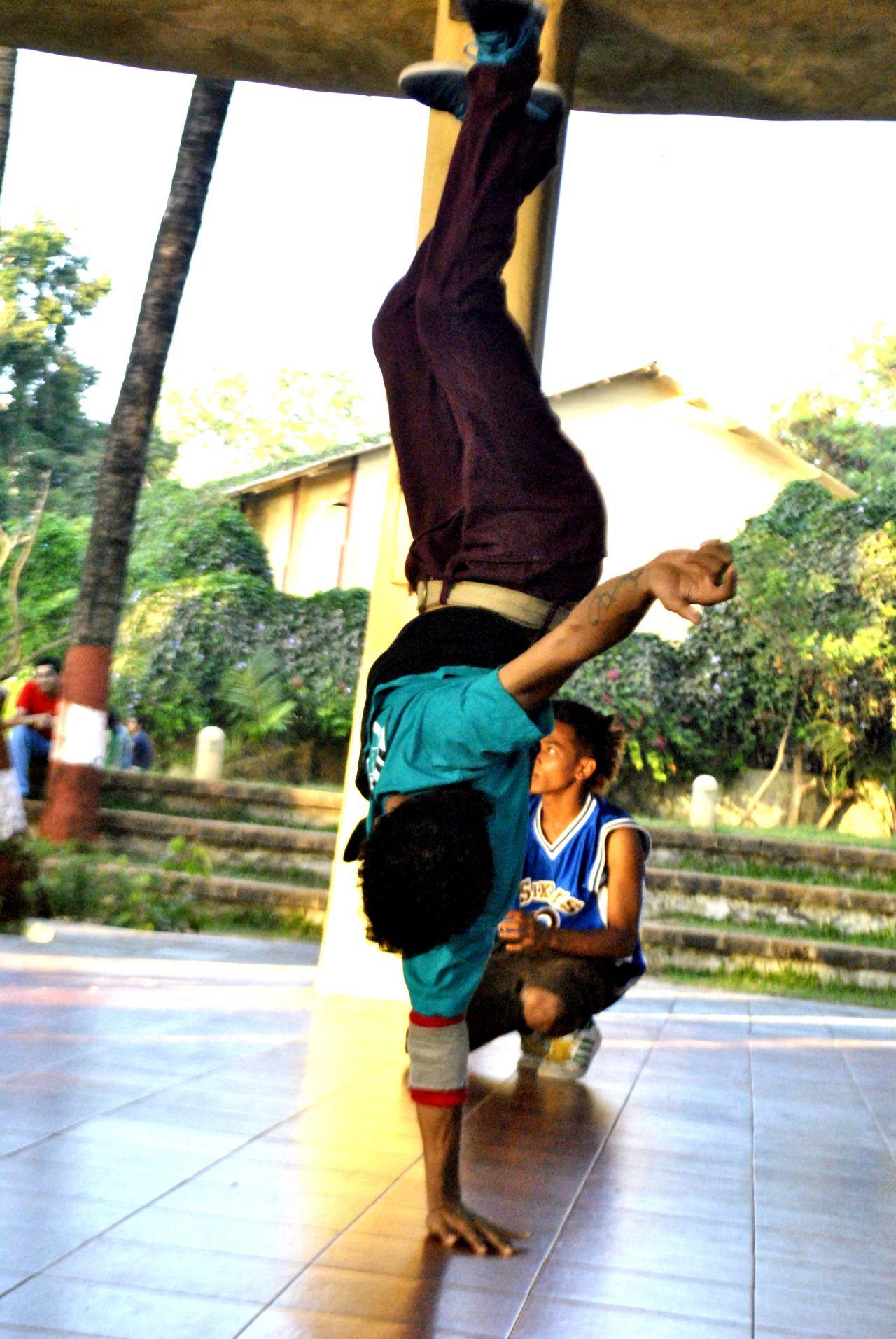 """Free photo """"Break Dance Practise"""""""