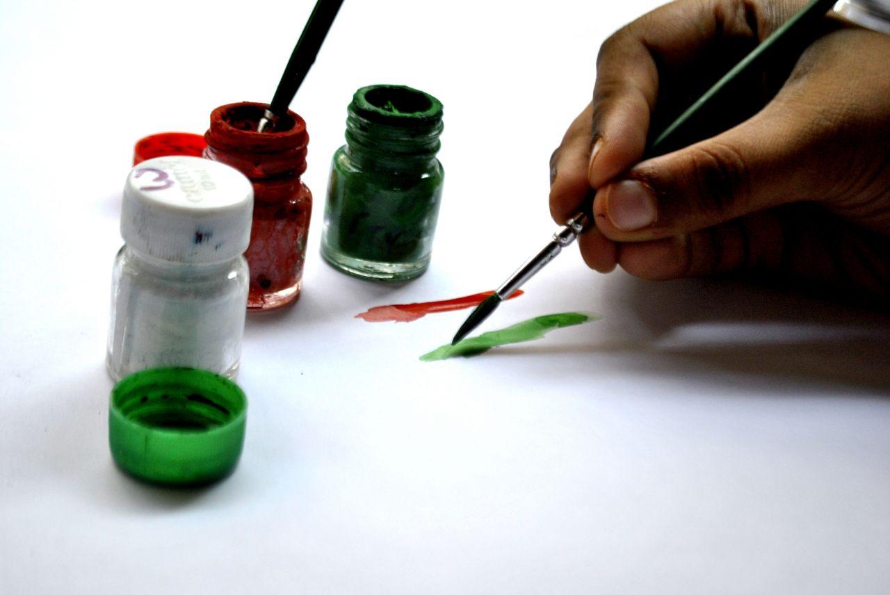 "Free photo ""Painter Painting"""