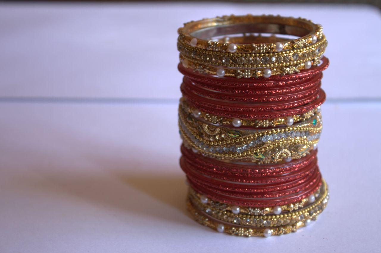 "Free photo ""Bangles Indian Ethnic Jewelry"""