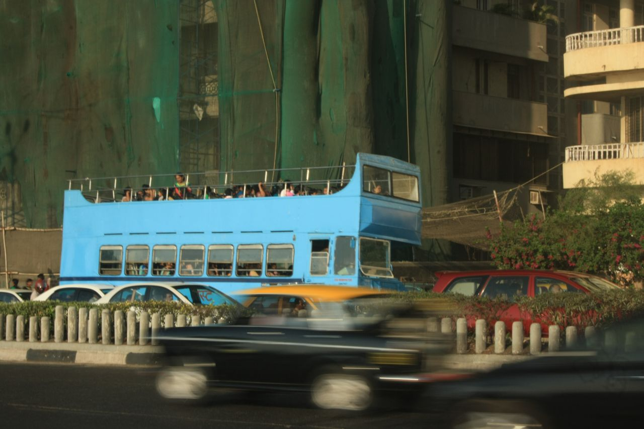 "Free photo ""Open Top Bus"""