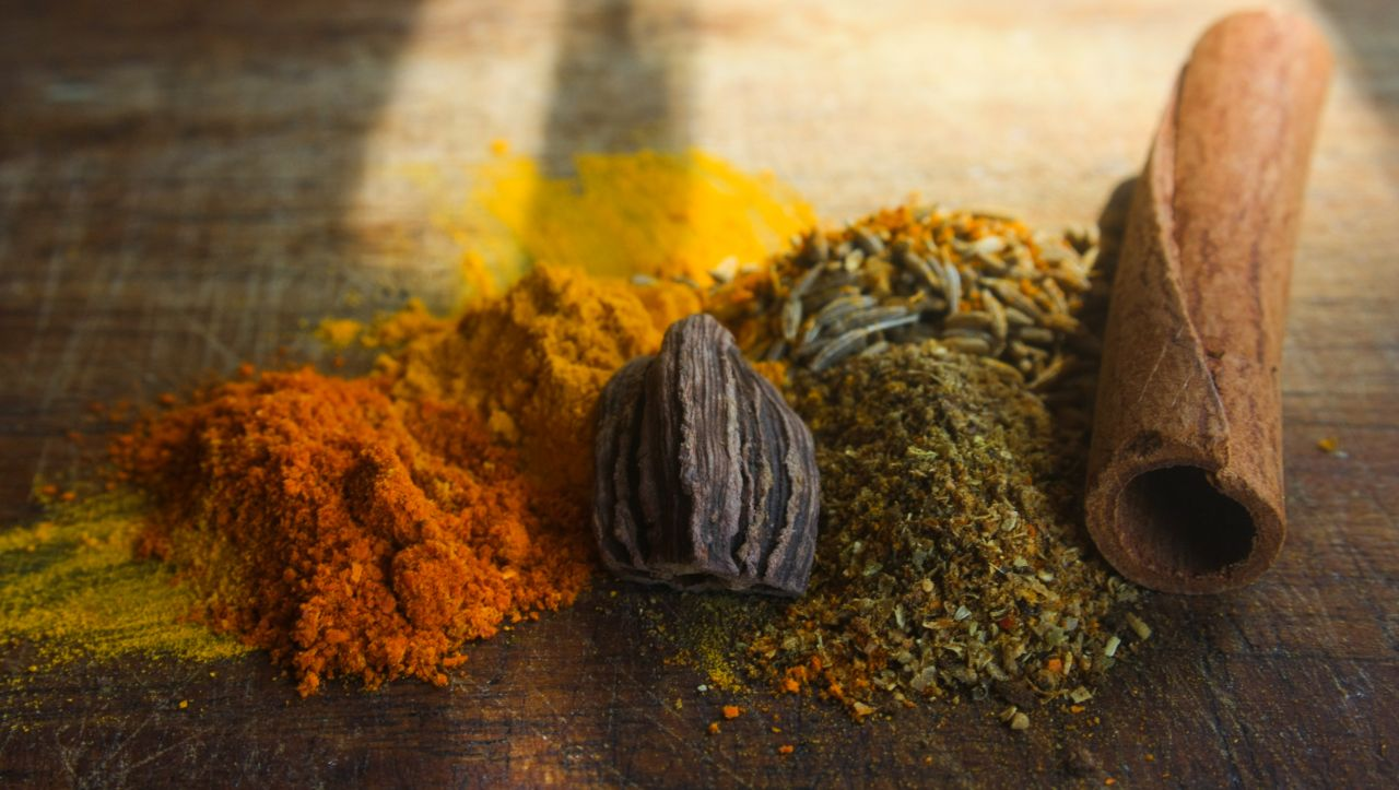 "Free photo ""Spices Colorful"""