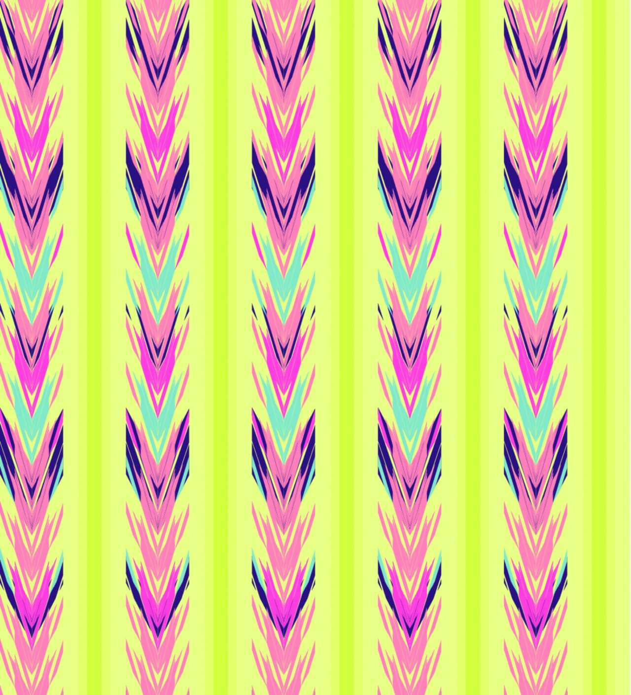 "Free vector ""Ethnic seamless striped pattern"""