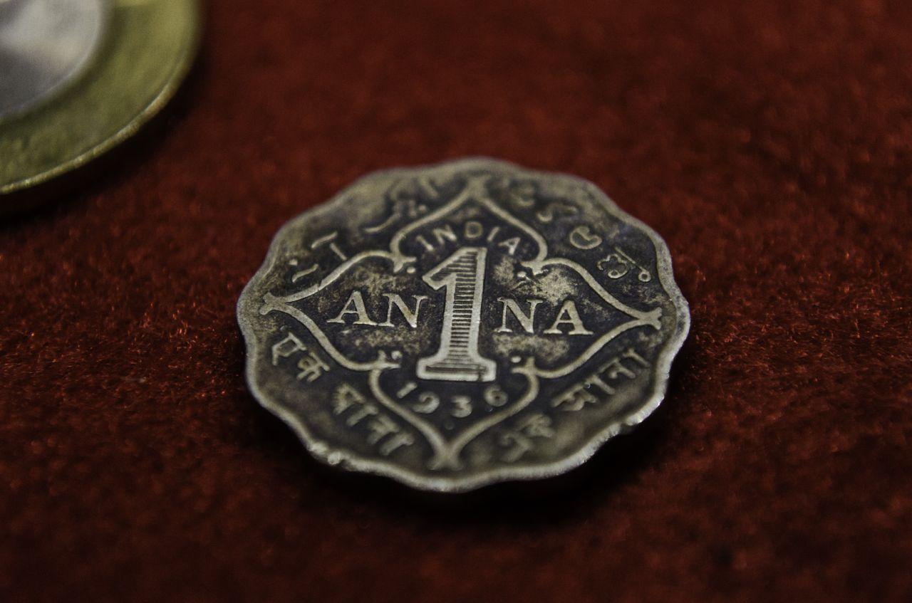 "Free photo ""Anna Coin India"""