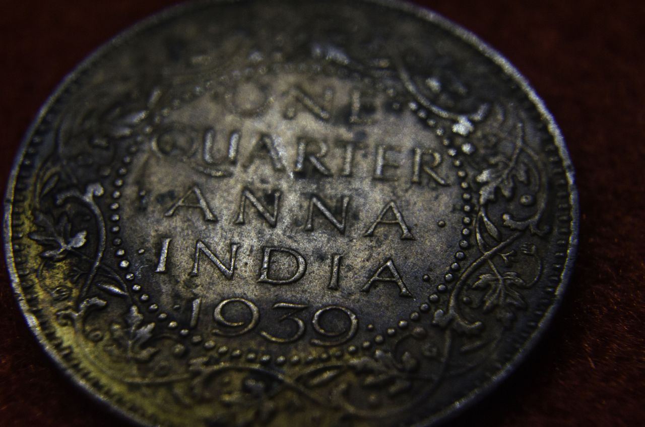 "Free photo ""Antique Coin India"""