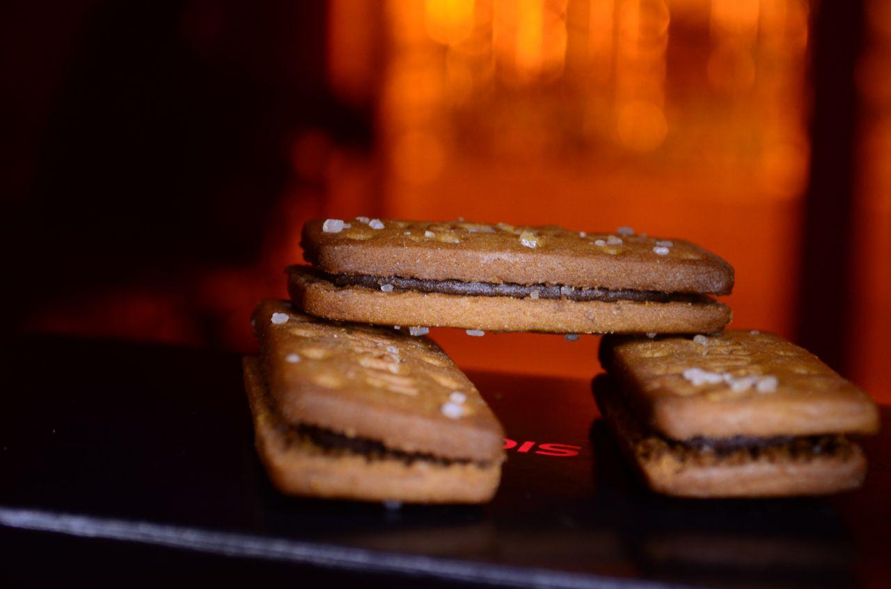 "Free photo ""Chocolate Cream Biscuits"""