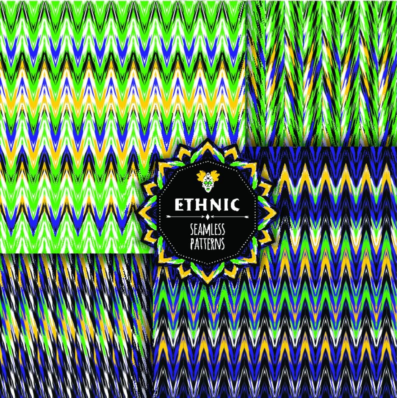 "Free vector ""Ethnic seamless pattern"""