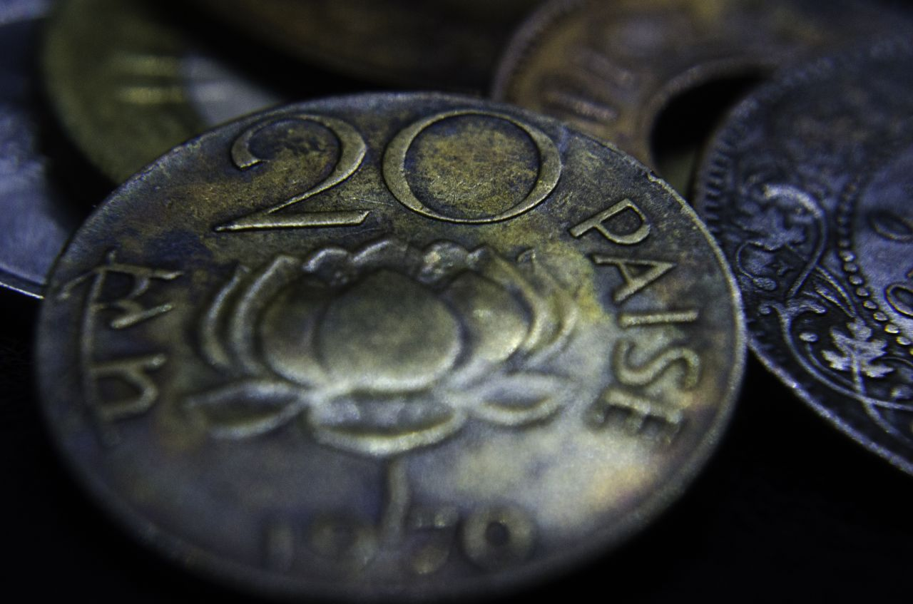 """Free photo """"Old Coins India"""""""