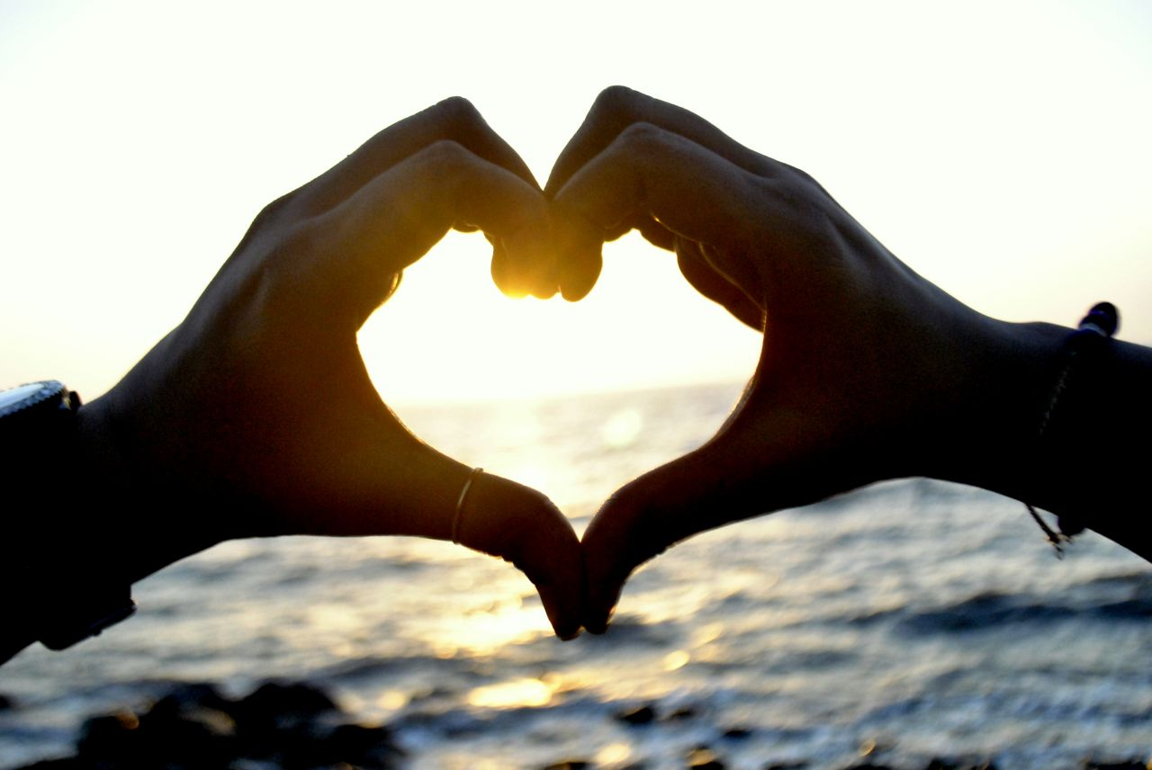 """Free photo """"Heart With Hands Couple"""""""