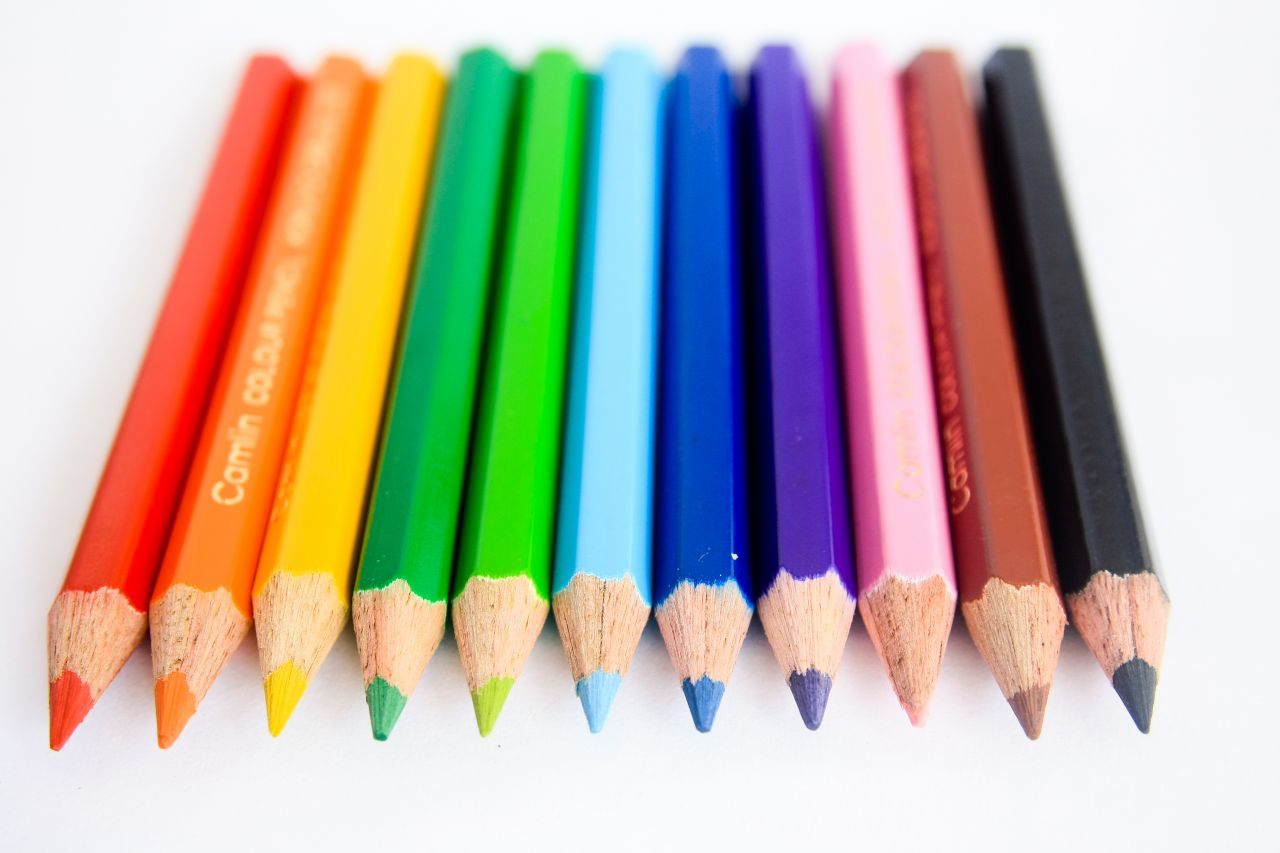 """Free photo """"Lots Of Colors Pencils"""""""