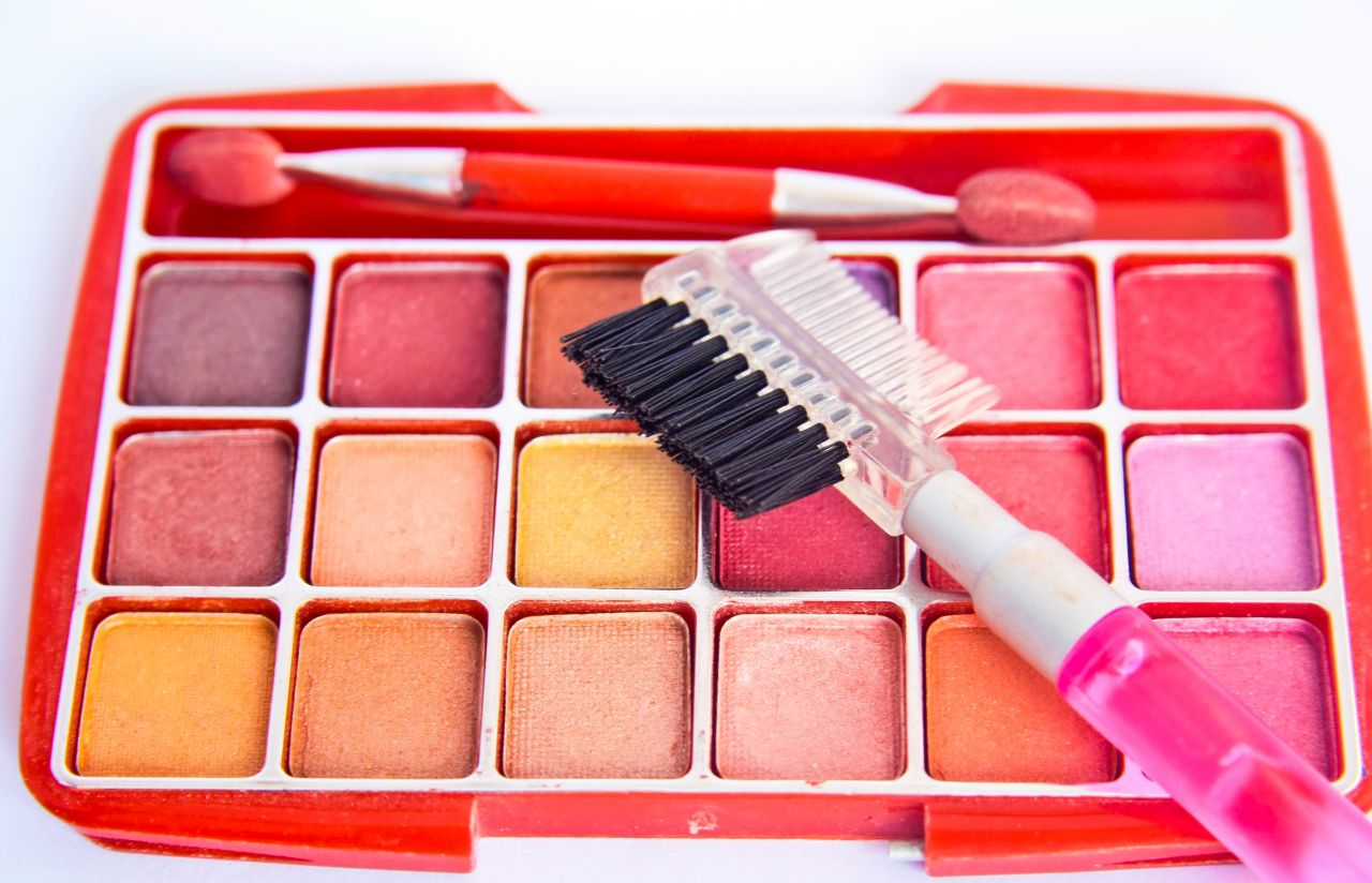 """Free photo """"Makeup Colors Brushes"""""""