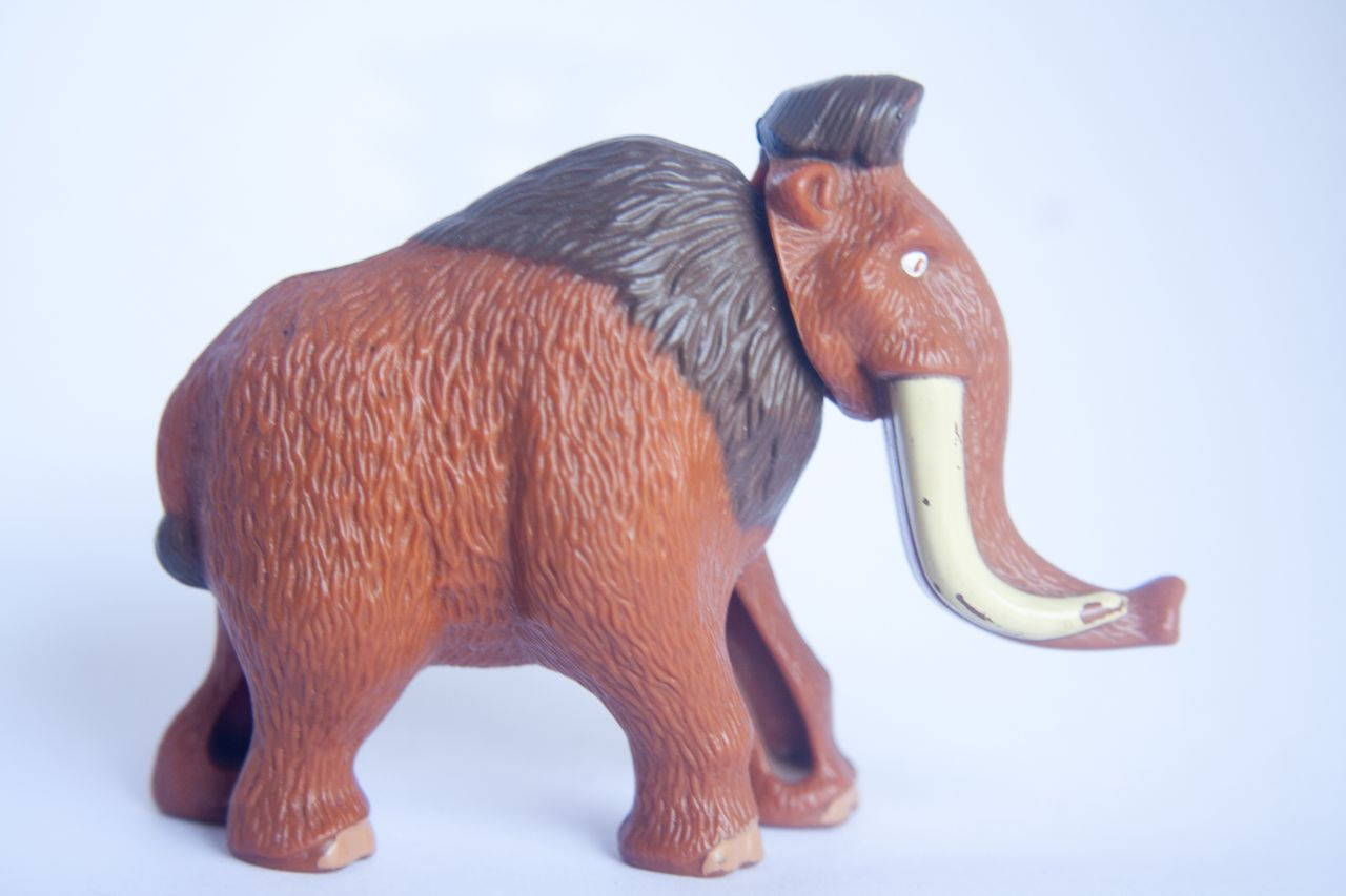 "Free photo ""Mammoth Toy"""